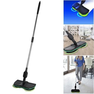 Rechargeable Household Robot CleanerMop Sweeper Mop Electric Swivel Cordless Hand Push Cleaner Broom
