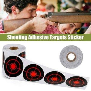 Window Stickers 100 250 PCS Shoot Target 7.5CM Hunting Accessories Shooting Practice Outdoor Supplies Splatter Reactive