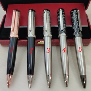 Luxury Pens Concave Lattice Silver Pen Shape-Pen Cap Clip Good-pens French Brand The Good Gift