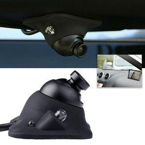 DC 12V 170 ° Vista posterior delantera del coche Camera de inversión LED Copia de seguridad inversa A prueba de agua Accesorios de reemplazo de automóviles