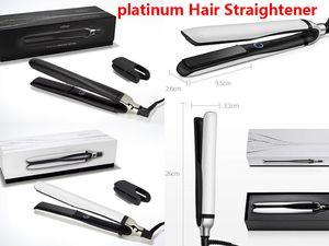 platinum Hair Straightener Classic Professional styler Fast HairStraighteners Iron HairStyling tool UK US EU Plug high quality