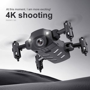 Foldable 4K Mini Drones Droni RC Planes Quadcopter HD Camera 1080P Wifi FPV Dron Selfie Remote Helicopter Juguetes Kids BoyToys Gift for Teens