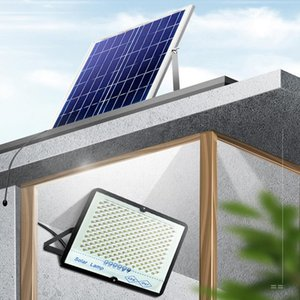 Solar Panel Light LED Lamp 7000mA Battery Wireless Outdoor Garden Waterproof Large Lights