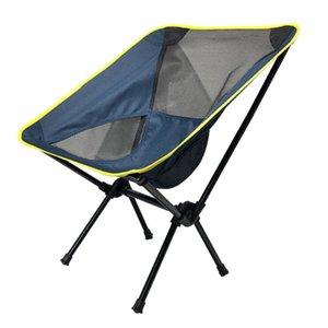 1 pc Cadeira de acampamento ao ar livre Cadeira de pesca dobrável acessórios para churrasco de praia