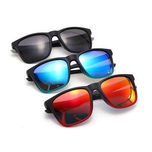 Мужские моды спортивные стекла велосипедные поляризованные старинные квадратные солнцезащитные очки