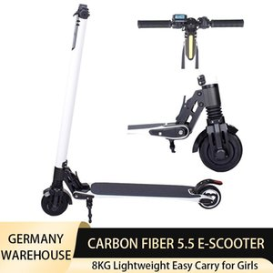 Electric Scooter 250W 24V 4AH 6AH Foldable Lightweight Scooters Waterproof Max 23KM Mileage E-scooter 5.5inch Tire for Girls Kids EU Stock