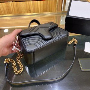 مصمم حقيبة يد ساحة الدهون سلسلة سيدة حقيبة الكتف سعة كبيرة عالية الجودة رسول مخيط