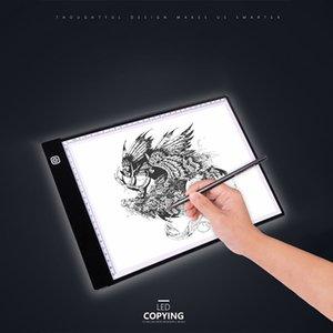 A4 الصمام ضوء مربع tracer الرقمية اللوحي أداة الرسم الجرافيك الكتابة الرسم رسم رقيقة جدا تتبع نسخة وسادة لوحة artcraft 2 أوضاع