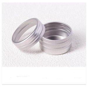 10g Boş Alüminyum Kozmetik Konteyner Teneke Lüks Yuvarlak Alüminyum Kavanoz Tırnak Dekorasyon El Sanatları Pot Şişe CCF5531