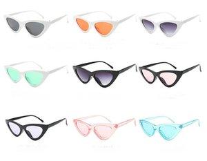 Мужчины женщины маленькие рамки солнцезащитные очки кошек глаз солнцезащитные очки треугольник очки 10 шт. / Лот (сделано в Китае).