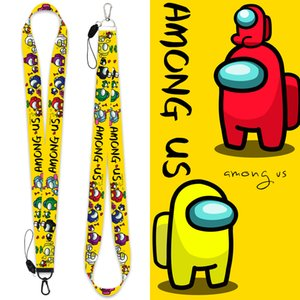 Doll Apparel Between us Childrens Lanyard Cartoon Cord Anti-lost among uss Game printing lanyards mobile phone pendant keychain card rope