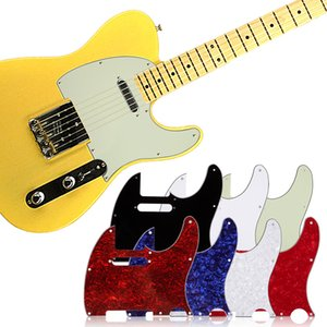 3Ply Pickguard Guitar Pick Guard Plate with Screws Fit USA Mexican Standard Tele Pickguard Replacement