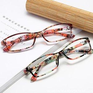 Lesebrille Presbyopic Eyewear Männliche weibliche Wohle Sicht Full Frame Ultra Light Schwarz Mit Stärke +100 bis +400 Sonnenbrillen