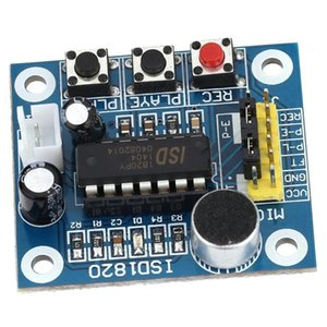 Digital Voice Recorder ISD1820 Sound Recording Playback Module With Mini - Audio Speakers