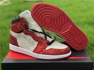 Alto 1 OG Hombres sin miedo Mujeres Zapatos de baloncesto El cirujano de zapatos 1s North Pole Chicago Mens Ladies Sports Sports Sneaker CK5566 610