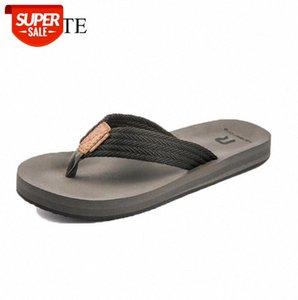 Wotte Flip flops uomo estate uomo pantofole sandali da spiaggia traspirante comodo eva casual pantofole claquette homme grande taglia 40-50 # sv01
