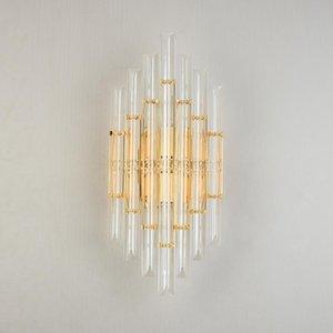 Wall Lamps Modern Crystal LED For Ding Room Decoration,Bedroom Sconce Lamp Home Living Kitchen Indoor Lighting Fixture