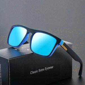 Lunettes de soleil 2021 Polarized Hommes Driving Shades Mâle Sun Lunettes Pour Hommes Rétro Femme de Luxe de Luxe de Luxe Marque UV400 Gafas