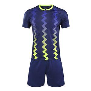 2021 High quality MEN boys Soccer Jersey Uniforms Survetement Kids Blank Football Set Sport Training Suit Customize Sportswear A0521