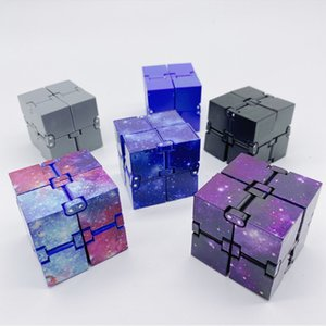 Popular New Fidget Infinity Cube Toy Second Generation Decompressed Toys Hot Selling Galaxy Mini Infinity Cube