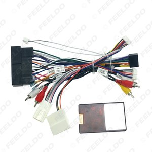 Car 16pin Audio Wiring Harness With Canbus Box & Amplifier For KIA KX5 KX7 Hyundai Sonata 9 Stereo Installation Wire Adapter #6772