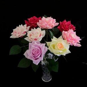 Simulación Luminosa Rose Flores Creativo Día de San Valentín Regalo LED Iluminado Romántico Rose Regalo Colorido Fiesta Favors