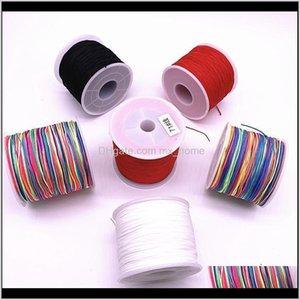04 15Mm 10Meters Lot Nylon Chinese Knot Macrame Bracelet Braided Diy Tassels Beading H Jllimp 8Yviu Arts And Crafts Dcir3