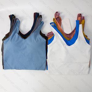 Yoga Kleidung Womens Sports Camisoles Tanks BH Unterwäsche Damen BH Fitness Schönheit Mode Unterwäsche Weste Designer Kleidung Trainer