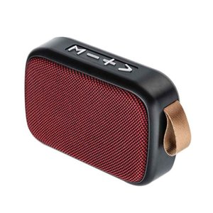 Portable Speakers Outdoor TF Card Bluetooth Speaker FM Wireless Surround Smartphone Laptop Rechargeable Home Mini Stereo Sound Office