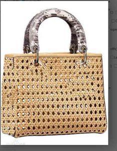 handbags real leather high quality handbag purses dio Gold Silver chain Sheepskin Cowhide wallet handbag Come Shoulder