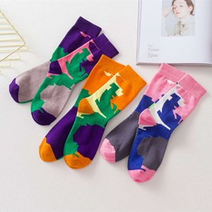 Autumn and winter fashion socks skateboard women hip hop men's personalized middle tube Street trend basketball