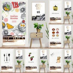 Занавес Drapes Японская подвесная дверь с кисточками кухонные десерты шаблон шторы украшения дома толстый дверной проем