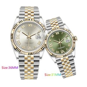 U1 AAA+ High Quality 31 36MM Mens Womens Diamond Watches 2813 Automatic Movement Stainless Steel Waterproof Luminous Wristwatches montre de luxe gift
