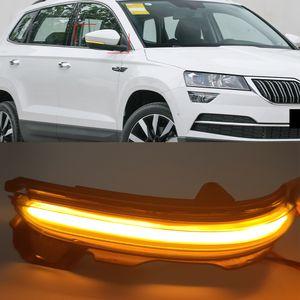 1Set LED Blinker Dynamic Turn Signal Light Side Mirror Repeater For SKODA KAROQ 2017-2020 KODIAQ 2016-2020