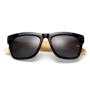 Солнцезащитные очки Berwer Мода Мужчины Женщины Бамбуковые Солнцезащитные Очки Деревянные Ретро Винтажные Летние Очки