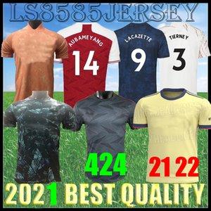 21 22 Arsen Fútbol Jersey Pharrell HumanRace Pepe Saka Nicolas Tierney Henry Willian Maitland-Niles Football Shirt 2021 2022 Hombres Top Calidad Soccers Uniforme