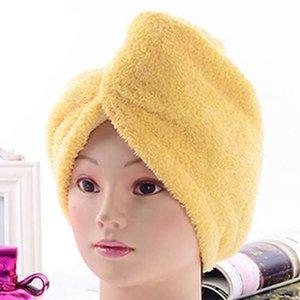 Mode Badezimmer Produkte 6 Farbe Weiche Duschkappe Schnelltrocknung Haar Mikrofaser Trockene Komfortable Handtuch Großhandel