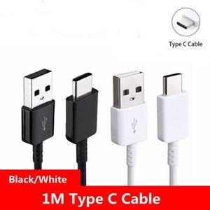Cavi di tipo C USB Cavi FAST 1M Cavo dati del caricatore per Samsung Galaxy S8 S9 Plus Nota8 C5 C7 C9 C9 tipo-C cavo di ricarica
