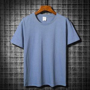 Футболка синий хлопок с короткими рукавами футболки футбол для футболки мужская и женская высококачественная целый матч не могут позволить себе мяч