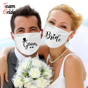Team bride to be Mask Honeymoon Travel Decoration Groom Mask Bride to be Bridesmaid Gift Wedding Party Bridal Shower Decor