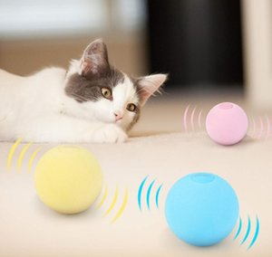 Funny Interactive Cat Toys Smart Touch Sound Ball Catnip Pet Training Supplies Simulation Squeaker Products Toy For Cats