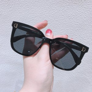 sunglasses D family new Sunglasses Women's fashion anti ultraviolet Sunglasses round face big face slim fashion glasses