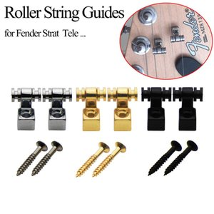 Electric Guitar String Retainers Meta Buckle Retainer For Fender Strat Tele ST TL Guitarra Accessories