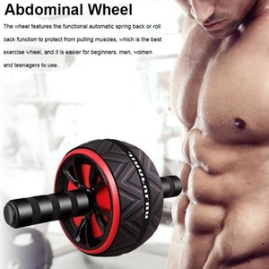 Ab Roller Wheel Power Trainer Abdominal Core Arm Waist Leg Strength Training Gear Home Workout Kit Gym Exercise Equip Equipment