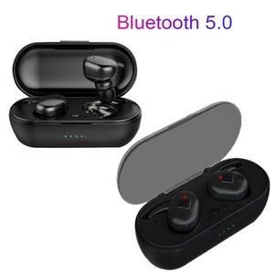500mAh Bluetooth 5.0 Wireless Ohrhörer Kopfhörer Ohrhörer Y30 Tws Touch Control Sport Headset Noise Ohrhörer Kopfhörer