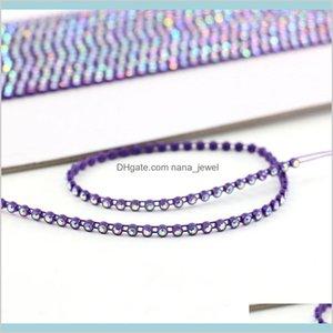 Wedding Cake Rhinestone Banding For Garment Accessories Rhinestone Banding For Beading Good Quality Gba005 B7L71 Mw7Az