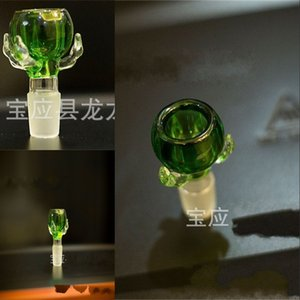Thick Dragon Claw Glass Bowl for Smoking Pipes Dry Herb Holder 14mm&18mm Male Joint Glass Smoking Bowls 450 S2