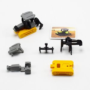 DIY Assembled Car Farm Machinery Tractor Construction Truck Children's Educational Toys For Kid's Gifts
