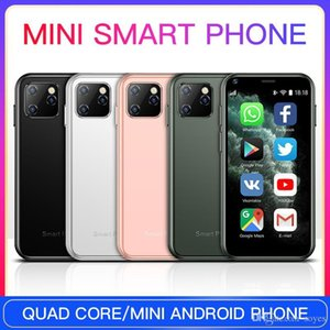 Wholesales Latest Android Cellphone Mini Smart Phone Dual SIM QuadCore CellPhones Students Touchscreen 3G Smartphone HD Camera Mobile Phones