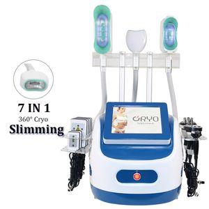 2021 Máquina de remoción de grasa de criolipólisis portátil profesional Crioterapia Profesional Cavitación de adelgazamiento RF REDUCCIÓN ANTI CELLULITE PIEL DE PIEL DE PIEL